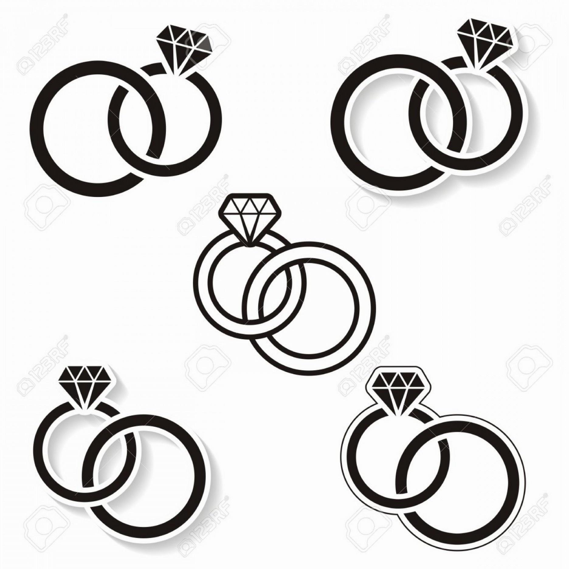 1872x1872 diamond ring cartoon drawing draw diamond ring unique how to draw