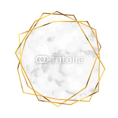 400x400 polygonal diamond shape abstract marble shape design template