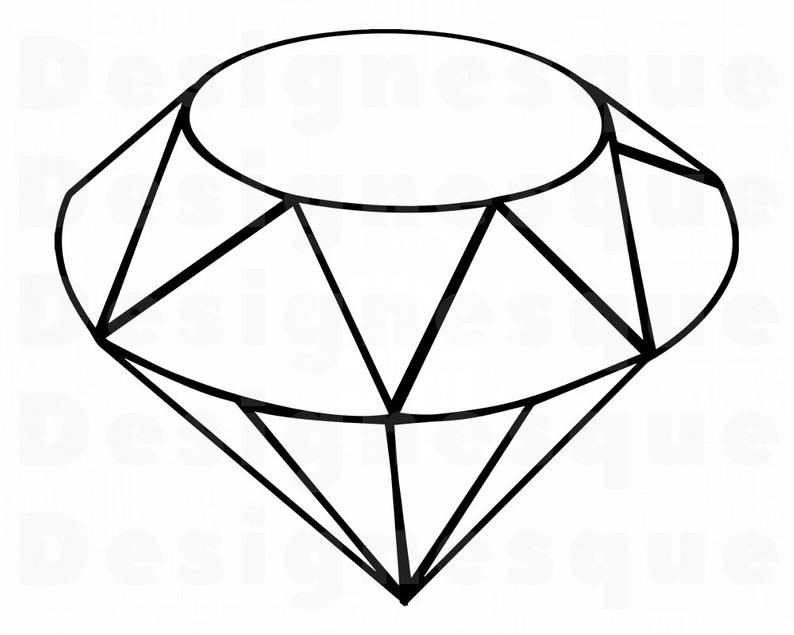 794x635 diamond outline diamond diamond outline clipart etsy