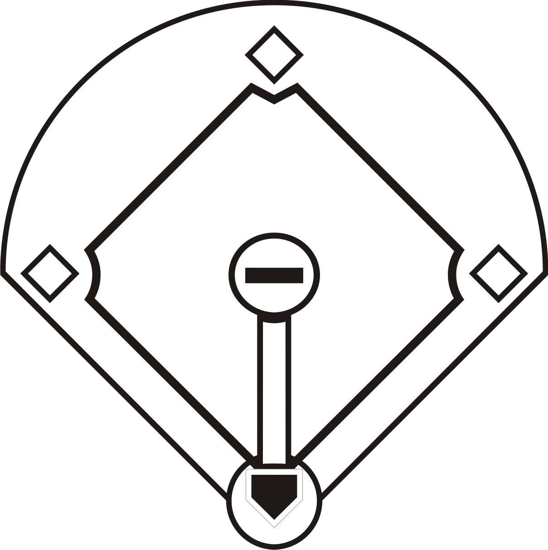 1209x1214 baseball diamond sketch baseball diamond drawing image group