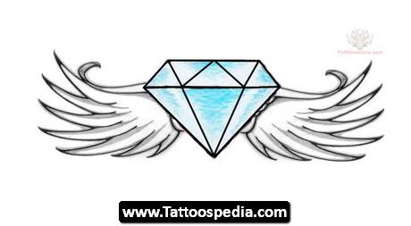460x253 diamond design tattoos design ideas
