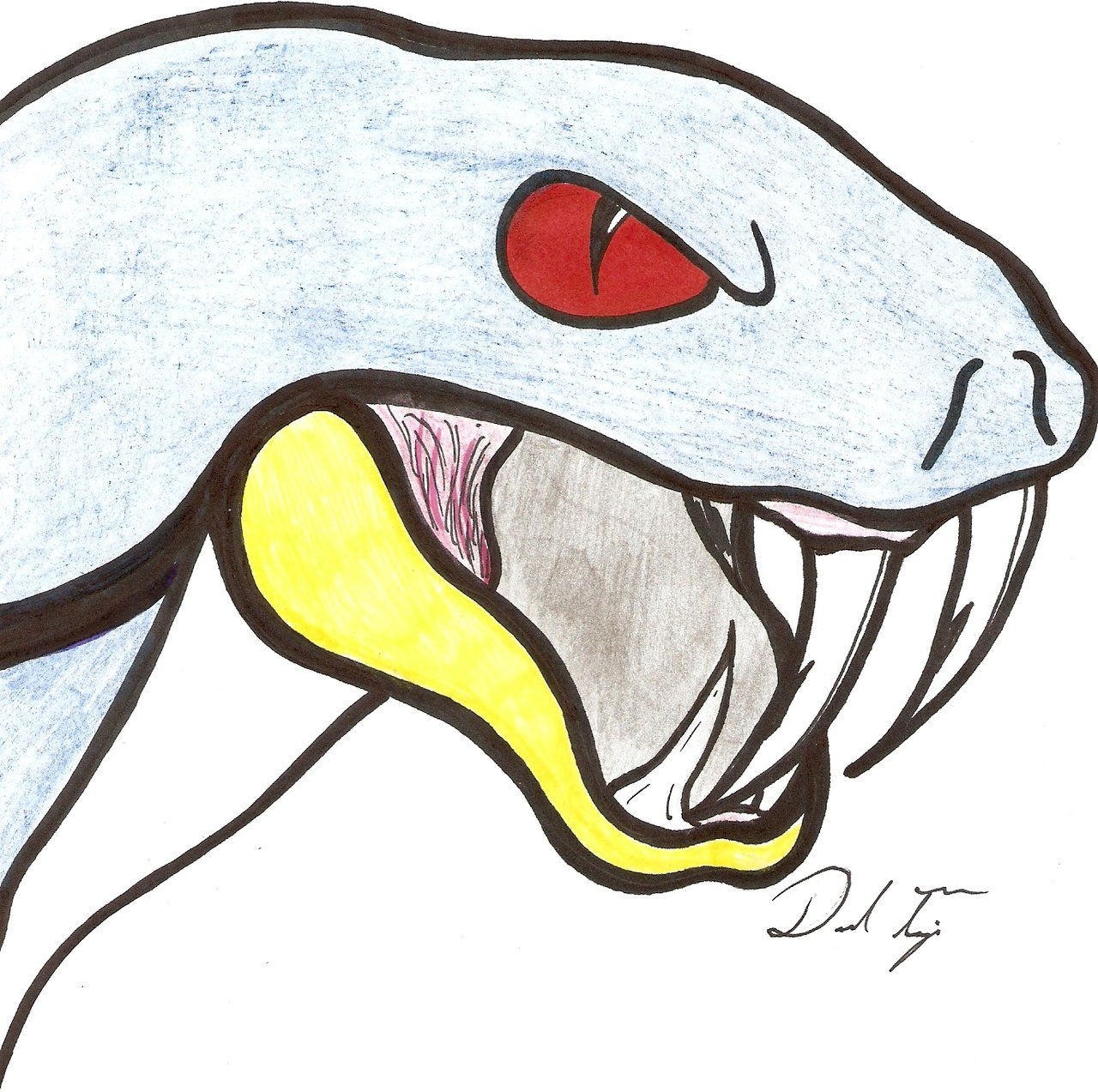 1280x1273 images for gt snake fangs drawing snake fangs drawings, snake