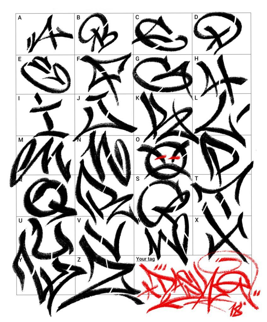 Different Lettering Styles For Drawing | Free download best