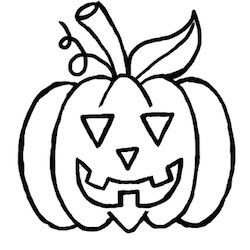 250x250 How Do You Draw A Pumpkin Well, It Is Not As Difficult As You