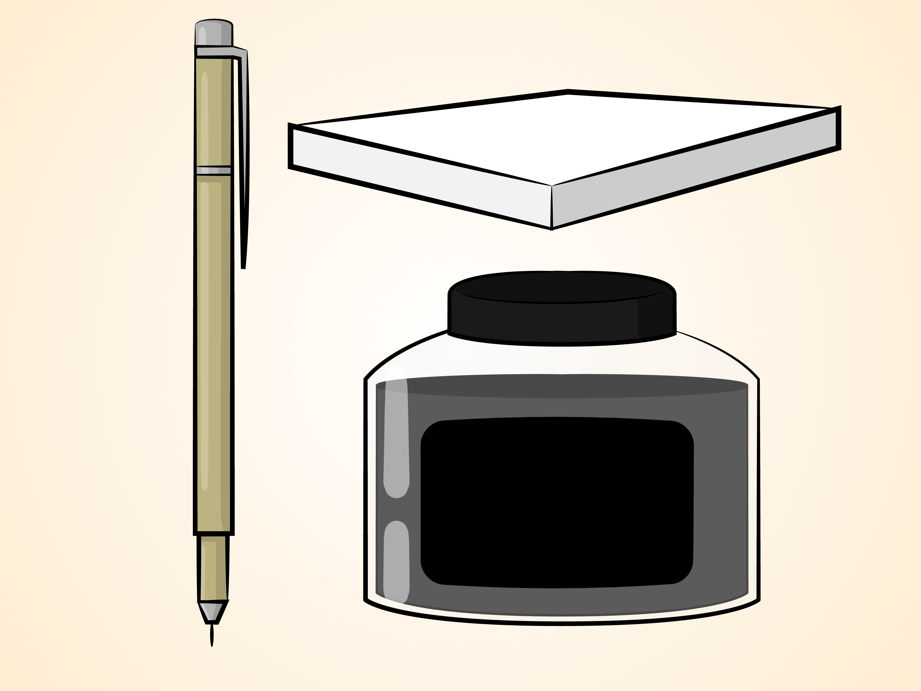 3200x2400 How To Ink A Drawing Steps