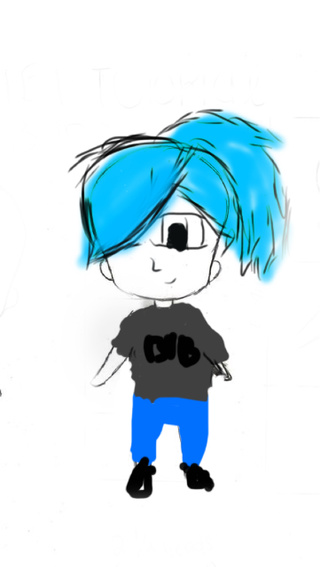 320x567 This Is My First Digital Drawing I Did It On My Phone So It Was