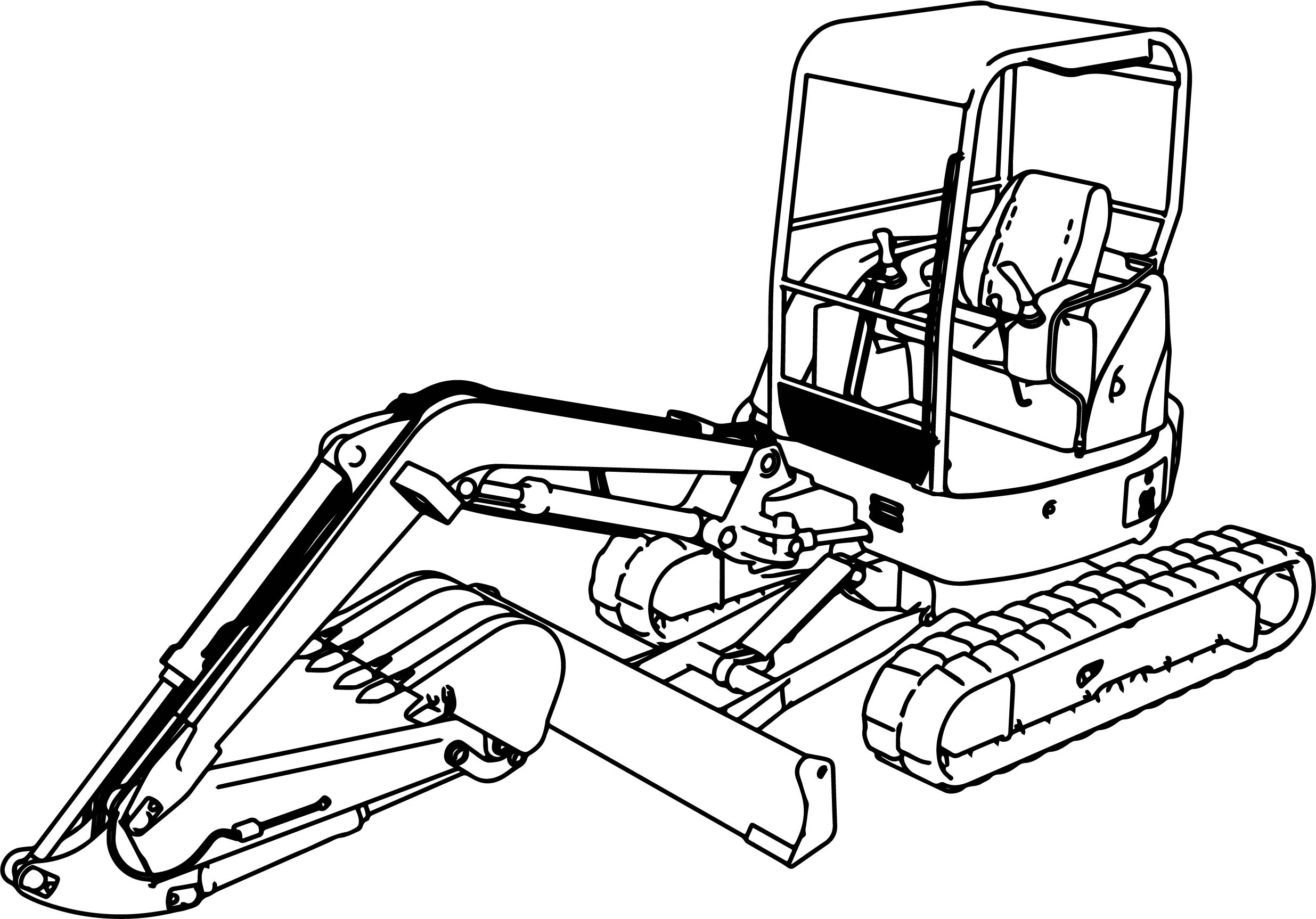 Digger Drawing | Free download on ClipArtMag