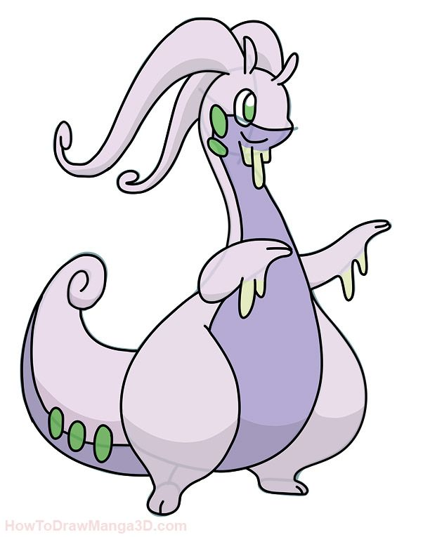 602x765 how draw goodra pokemon pokemon lego pokemon, pokemon