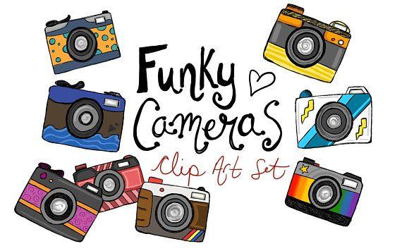 570x356 hand drawn fun funky camera clipart, camera clip art, hand drawn