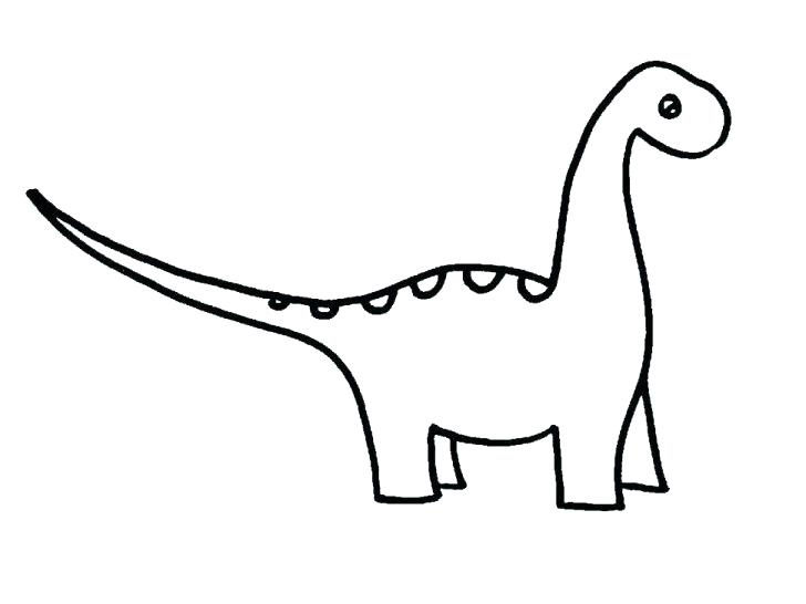 728x546 Dinosaur Skeleton Coloring Pages