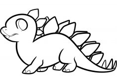 236x157 Dinosaur Drawings Cartoon Clip Art Ancient Images Classic Draw