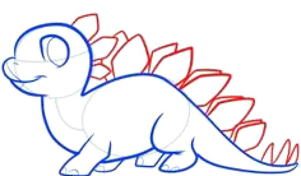 1024x600 Dinosaur Drawing Tutorial Download