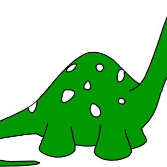 336x336 Cartoon Dinosaur Drawings Easy Drawing Baby Simple Images I
