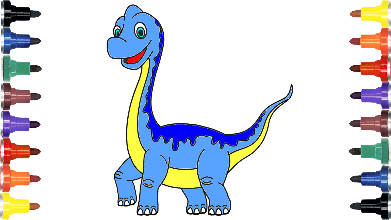 1280x720 how to draw dinosaur, dinosaur, dinosaur drawing for kids
