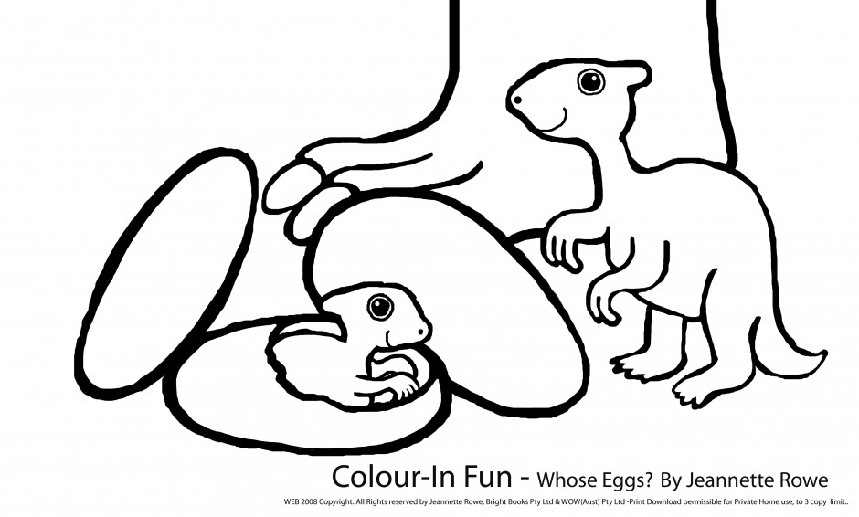 Dinosaur Egg Drawing