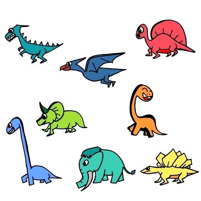 640x640 dino drawing image titled draw dinosaurs step dino drawing