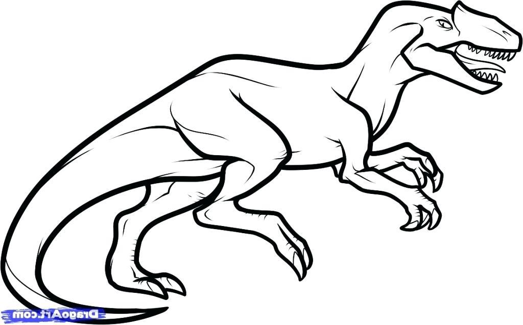 1024x637 Dinosaur Drawing Step