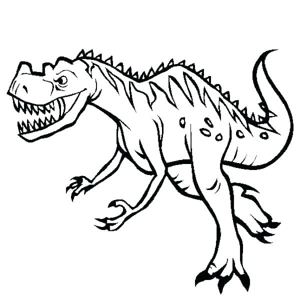 600x612 Dinosaur Drawings For Coloring Dinosaur Drawings For Coloring