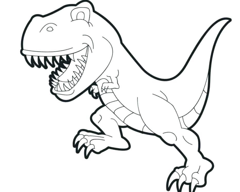 933x746 Dinosaurs To Color