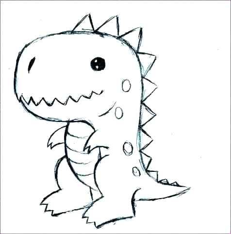476x482 Drawing A Dinosaur