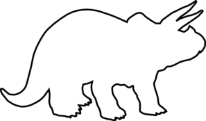 297x174 Collection Of Free Triceratops Drawing Outline Download On Ui Ex