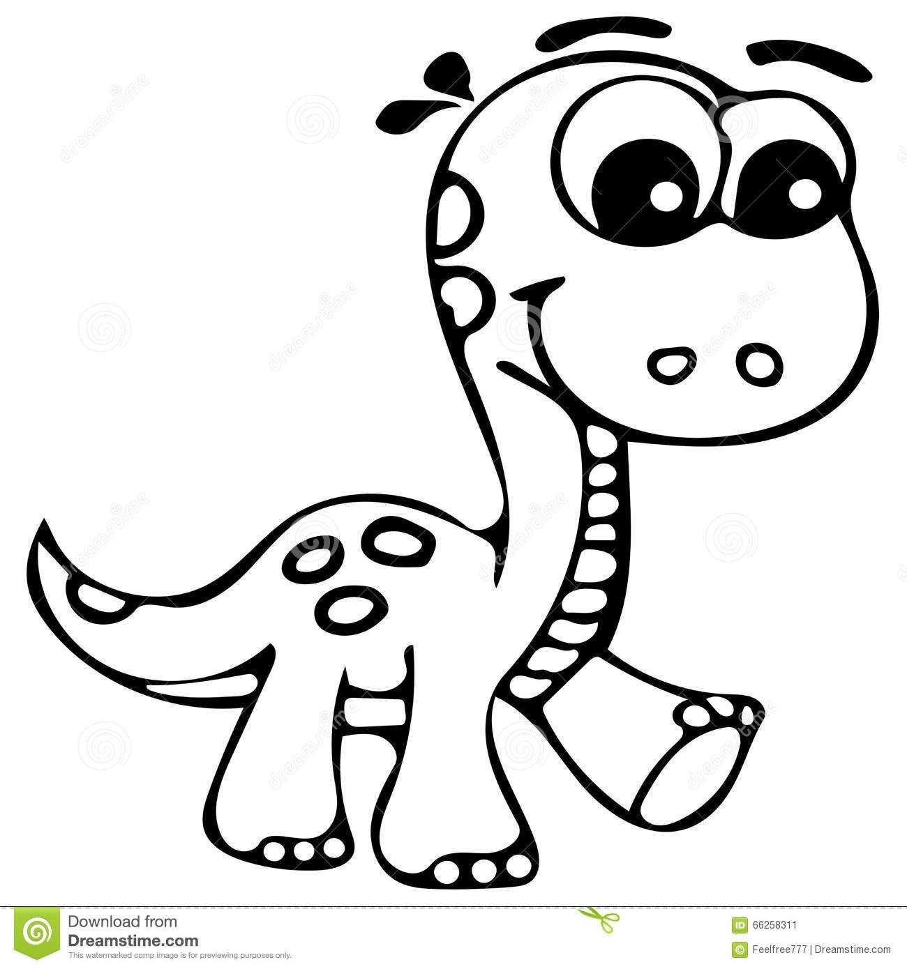 1300x1390 Cute Dinosaur Drawings Outline Coloring Pages Easy Drawing
