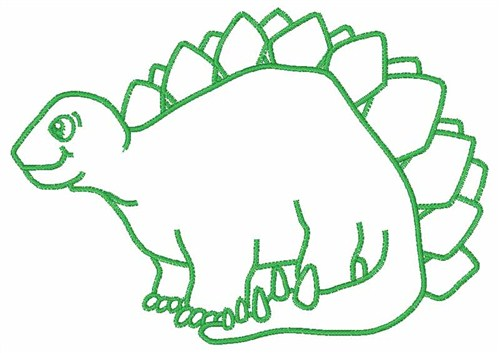 500x353 Dinosaur Outline Embroidery Designs Machine At Baseball Clipart