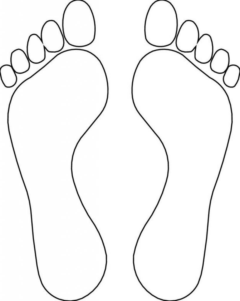 818x1024 Footprint Clipart Outline Clip Art Images
