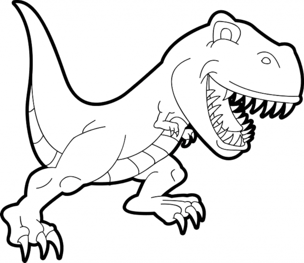 1024x885 New Jurassic Park T Rex Coloring Pages Collection Free Book