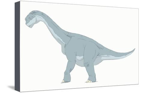473x309 Camarasaurus Pencil Drawing With Digital Color Art