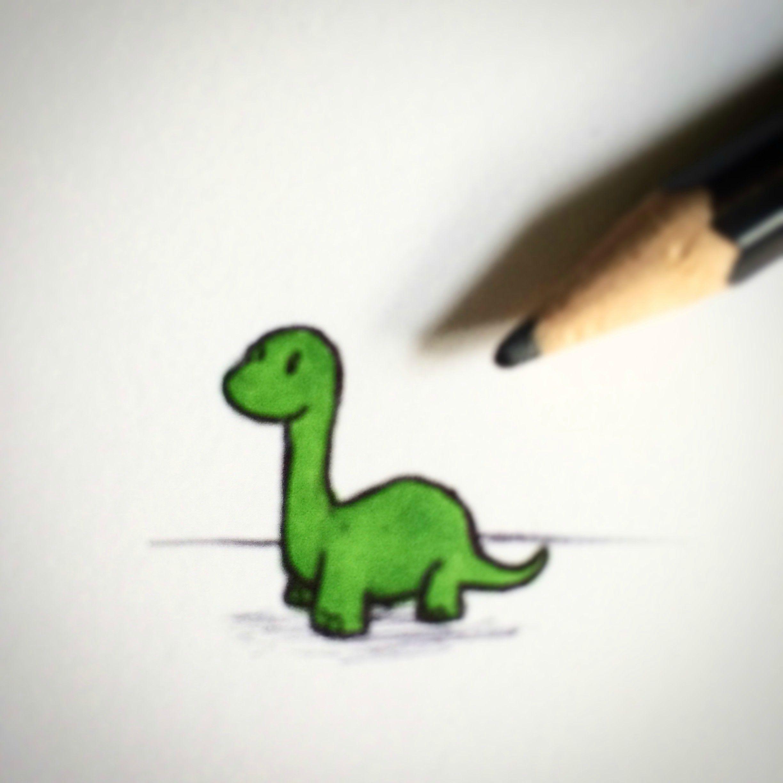 2448x2448 I Drew Tiny Dinosaurs, I Call Them Tinosaurs Animal Art