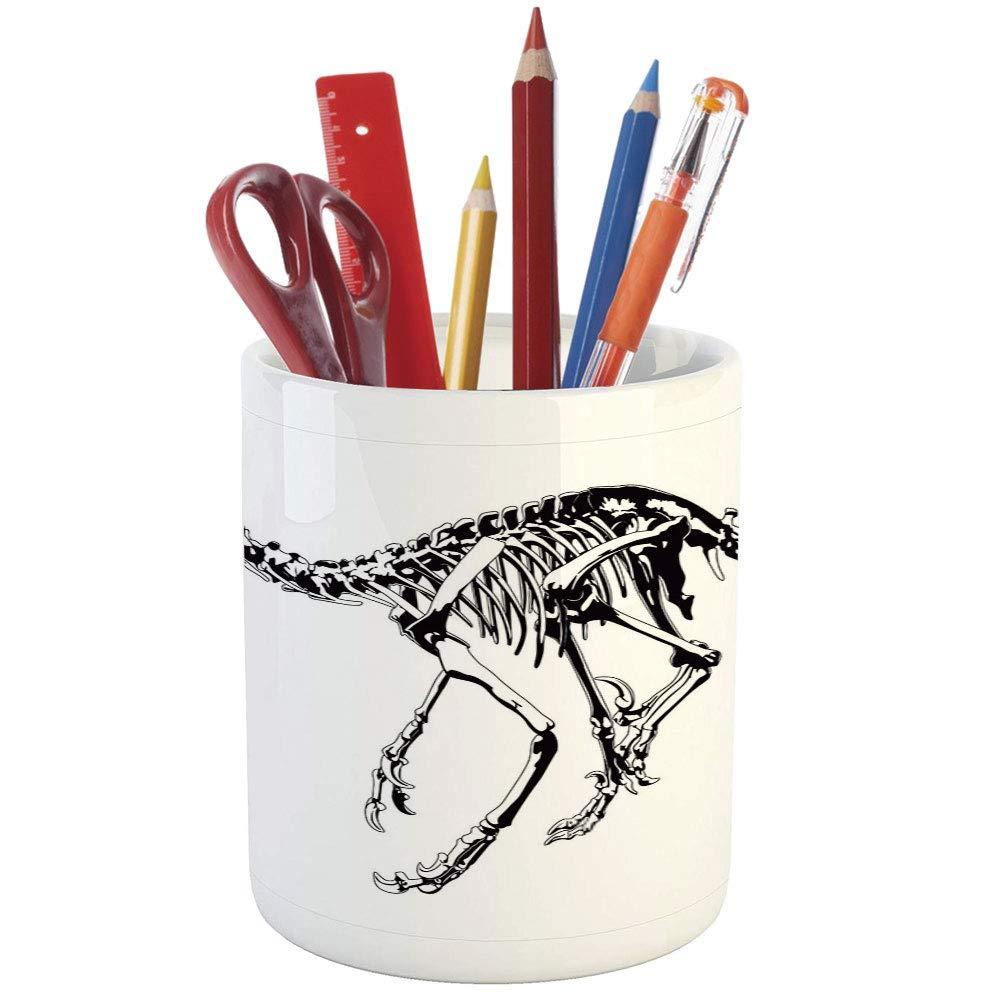 1000x1000 Pencil Pen Holder, Dinosaur, Printed Ceramic Pencil