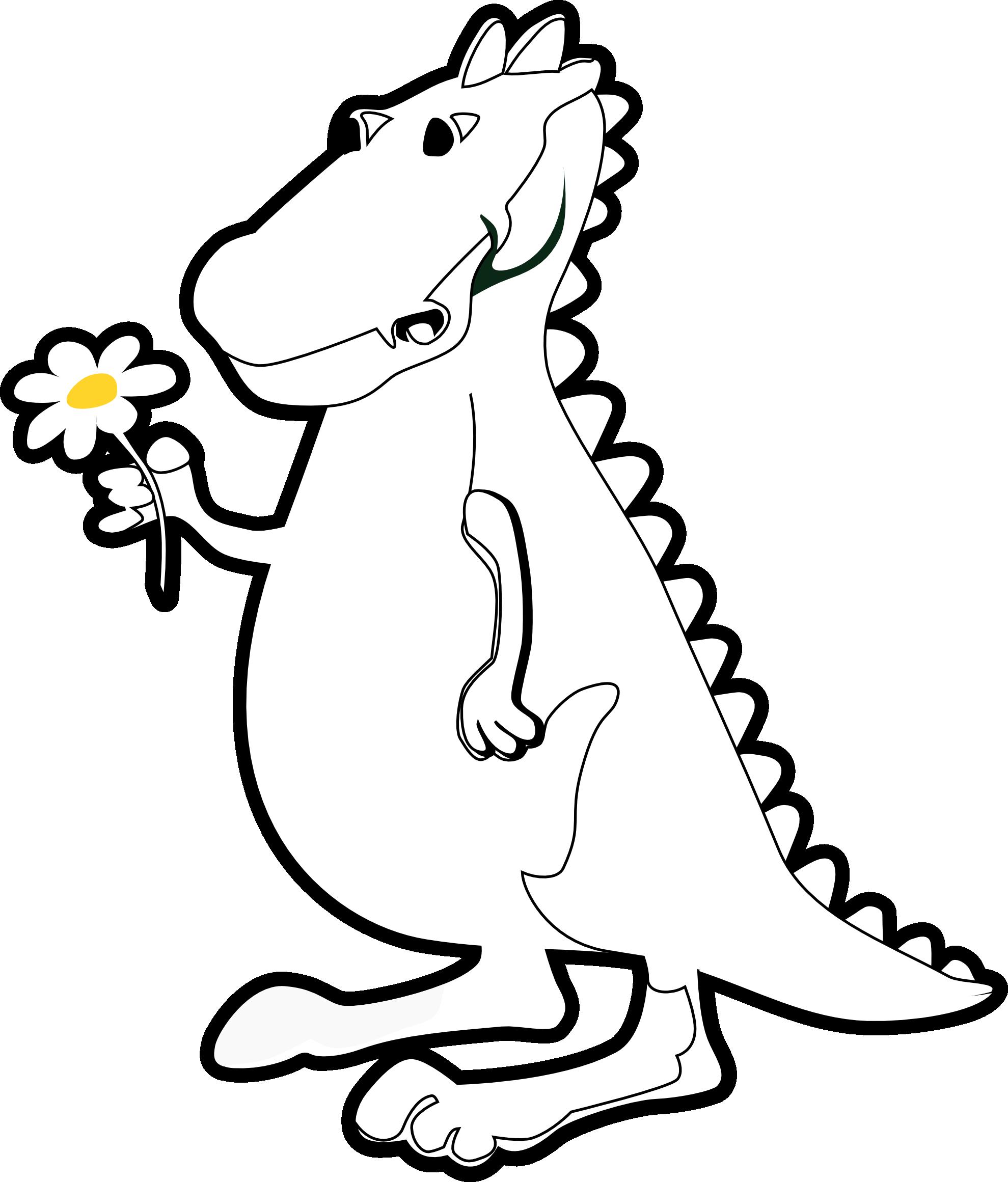 1979x2321 T Rex Clipart Dinosaur Coloring
