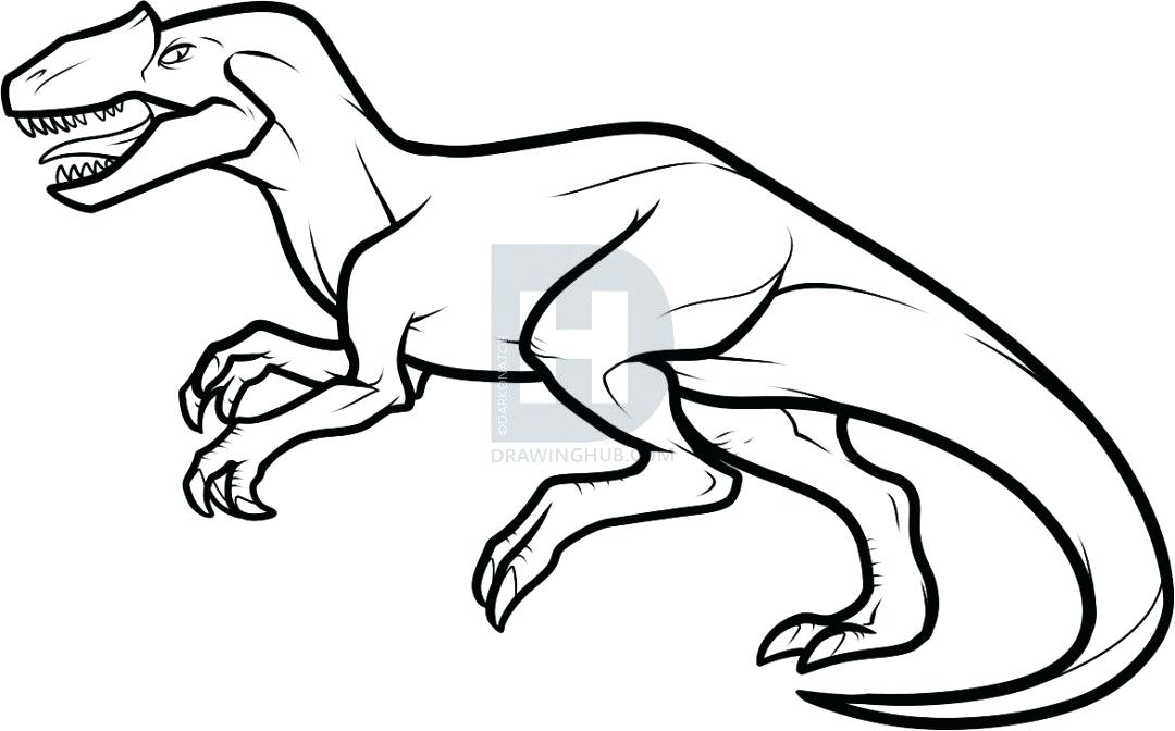 1080x672 Dinosaurs Drawing Step Step