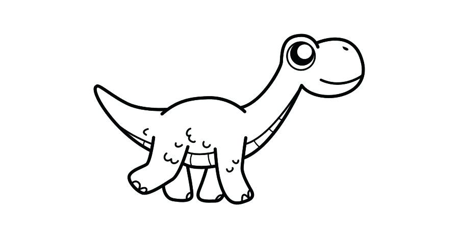 900x480 Drawing Of Dinosaur