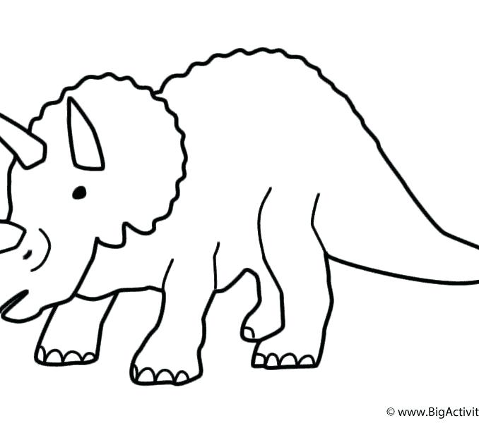 678x600 Easy Draw Dinosaur Lali