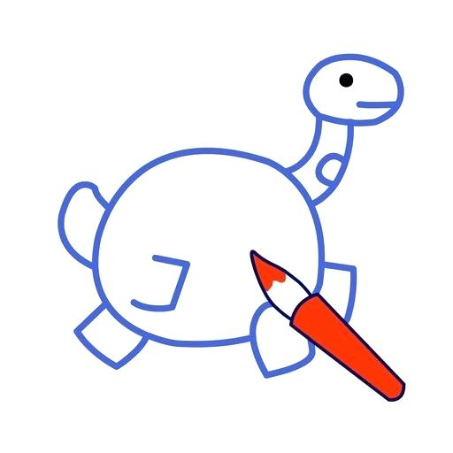512x512 Easy Dinosaur Drawing For Kids