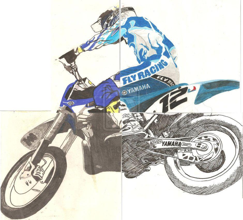 940x850 dirt bike drawings dirt bike peice