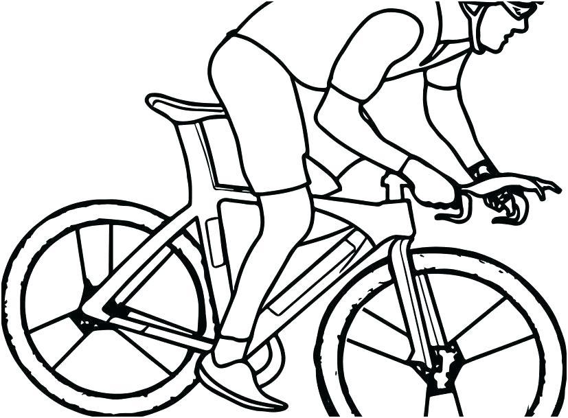 827x609 Bike Helmet Coloring
