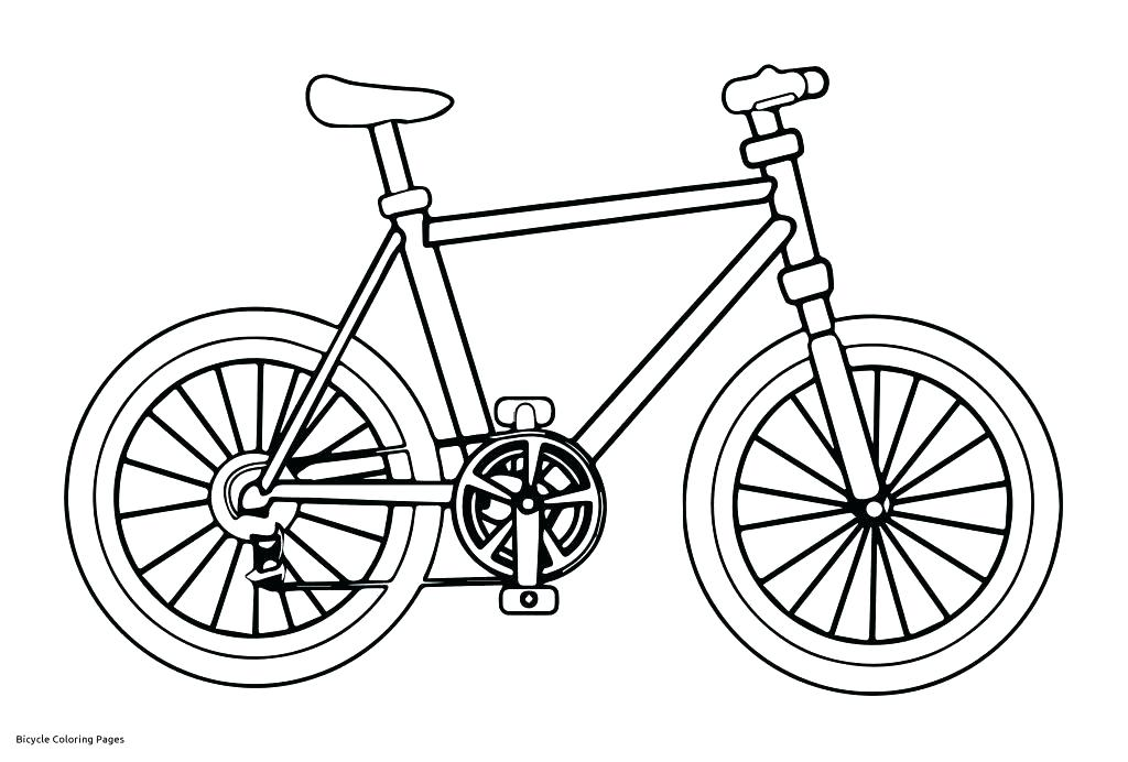 1024x692 Bike Riding Coloring Pages Bicycle Coloring Pages Bike Coloring