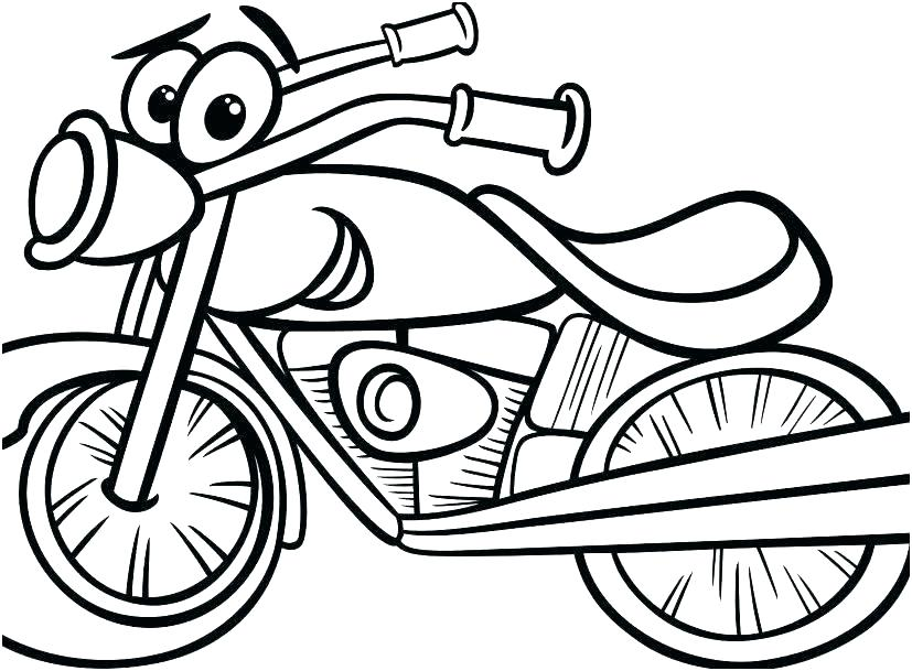 827x609 Coloring Pages Bikes Dirt Bike Helmet Motocross Pictures