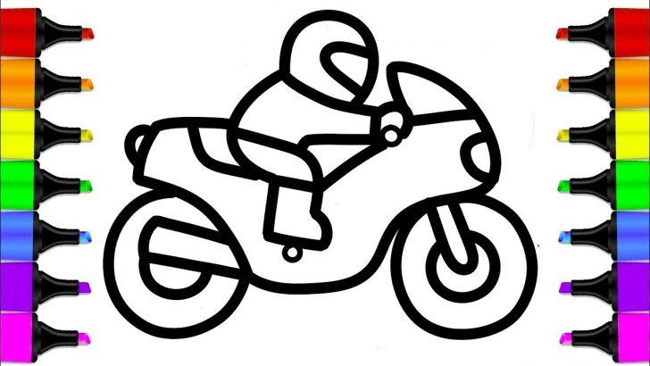 728x410 Blue Ribbon Bike Drawing Easy Dirt Ktm Racing Iydunetwork