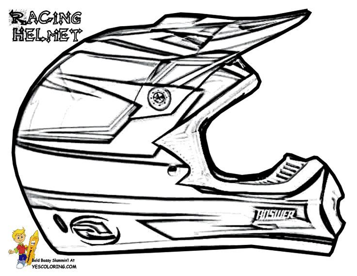 736x568 Dirt Bike Helmet Coloring