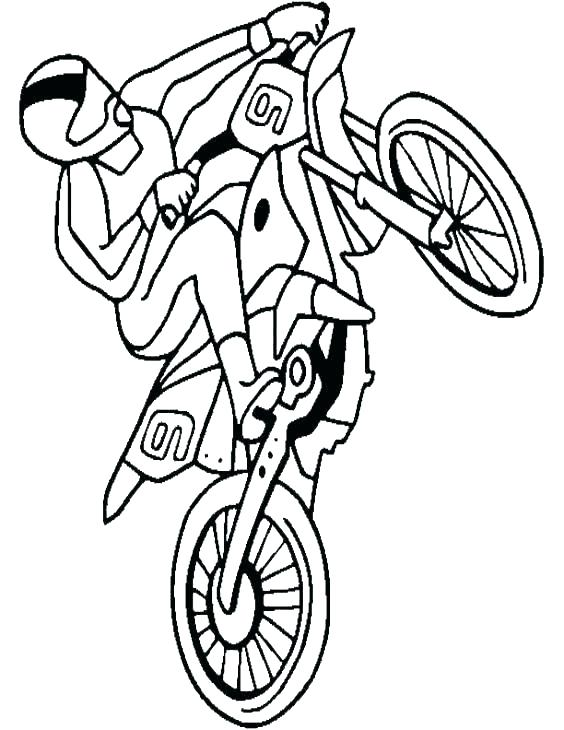 564x730 Bicycle Coloring Pages With Mountain Bike Of Bikes Printable