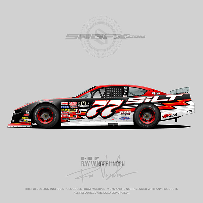 Dirt Late Model Drawing | Free download best Dirt Late Model Drawing