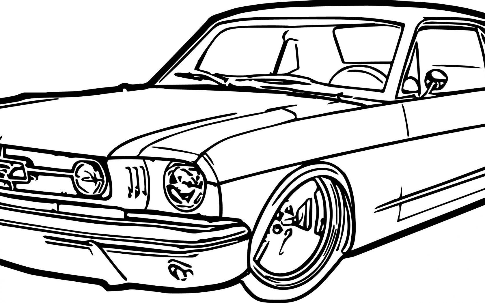 Nascar Mustang Template