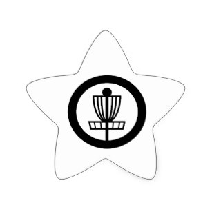 307x307 Disc Golf Basket Stickers Zazzle