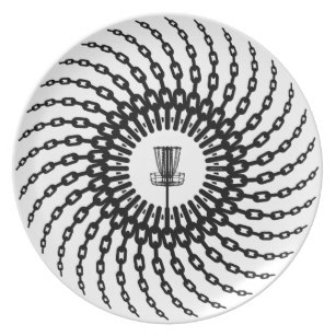 307x307 Disc Golf Plates Zazzle