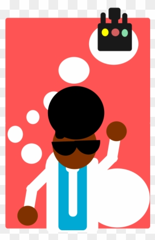 320x493 Disco Dude Clip Art