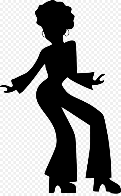 399x648 Download Free Png Disco Dance Drawing Silhouette Clip Art